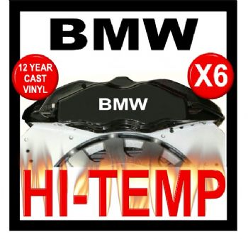 BMW HIGH TEMPERATURE BRAKE CALIPER DECAL SET